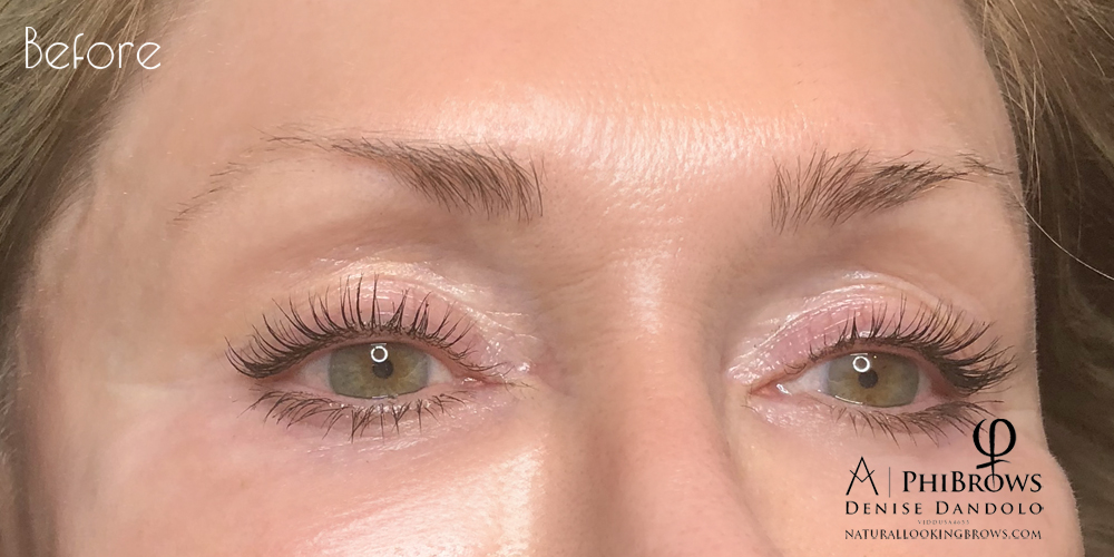 Natural Looking Brows | Microblading Eyebrows in Costa Mesa and